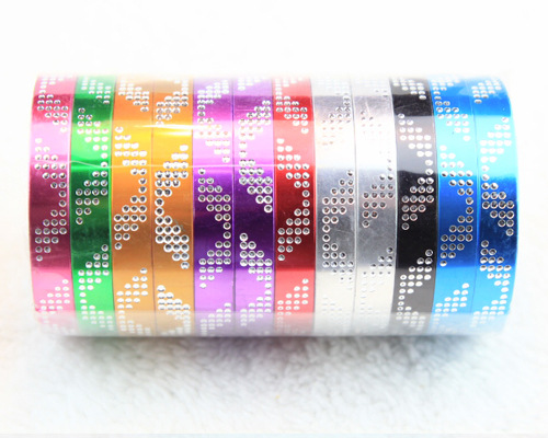 Colorful Aluminium Alloy Bracelet