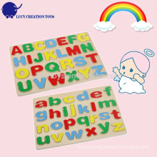Educational Kids DIY Wooden Alphabet Puzzle Toy