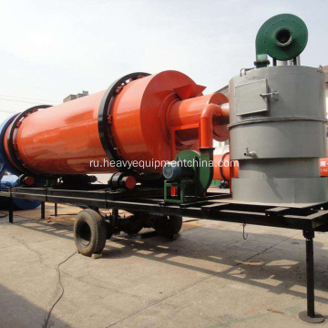 Dry+Sand+Sawdust+Mobile+Rotary+Dryer+For+Sale