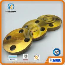 Bride de garnitures forgées aveugles d'acier au carbone DIN ANSI DIN (KT0397)