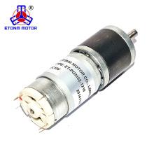 Motor da engrenagem do codificador do RPM 500rpm do motor da CC 24v baixo