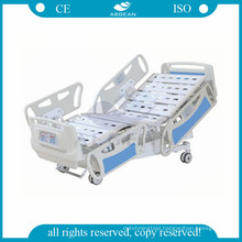 AG-BY008 height adjustable 10 part bedbaords icu electronic hospital bed