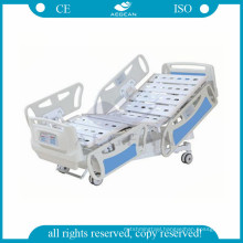 AG-BY008 hospital ICU medical electric bed with ten cranks good choice for ICU room