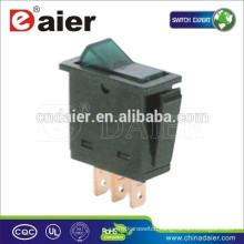 Daier ASW-25D auto switch, ON-OFF SPST 3P Automotive Rocker Switch@