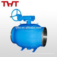 butt welding trunnion ball valve / heating special valve