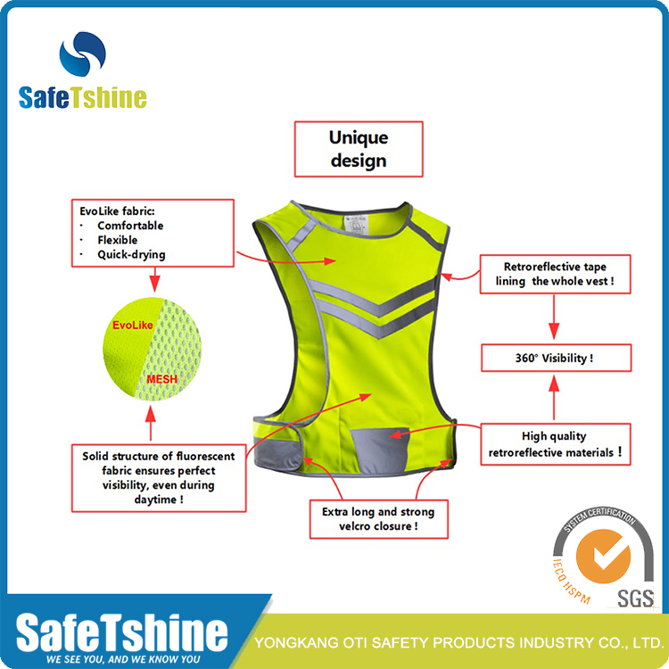 High Light Running Vest
