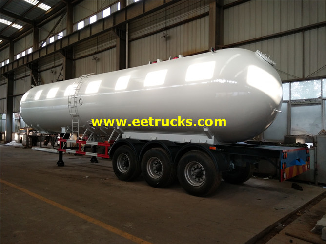 60cbm LPG Gas Delivery Trailers