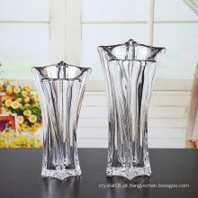 Vaso de vidro de cristal para a decoração Home (Ks80924)