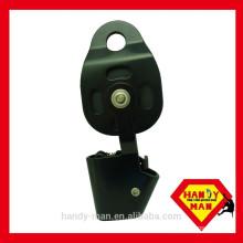 CE EN567 EN12278 Aluminum Ball Bearing Integral Industrial Safety Mobile Pulley