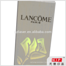 Unique personalized hologram cosmetic packaging boxes with own logo