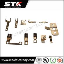 Chapa por encargo que sella las piezas de perforación para los componentes electrónicos