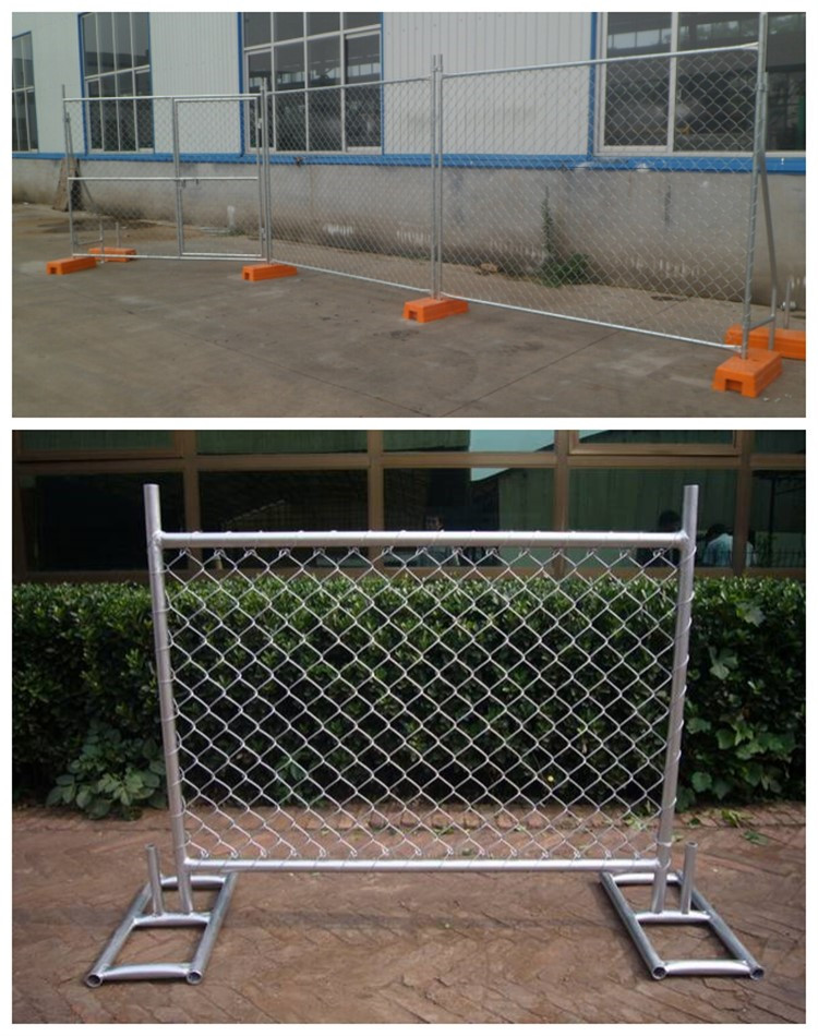 Temporary fence photo wire mesh
