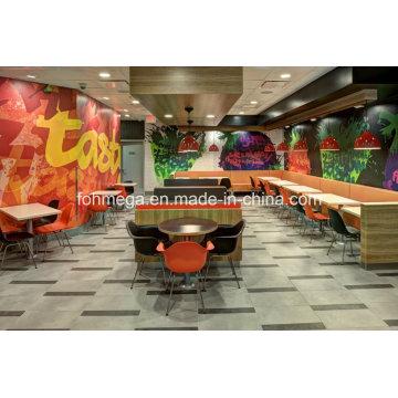 Sillas de mesa modernas del restaurante de la pizza fresca para la venta (FOH-FFR2)