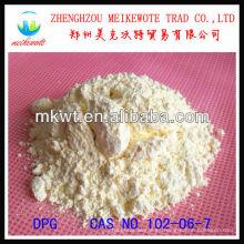 catalizador DPG (D) para distribuidoras de vulcanización de caucho natural y sintético disponibles