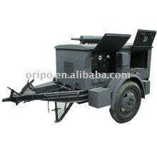 Generador de energía de remolque ignífugo e impermeable con motor diesel yangdong