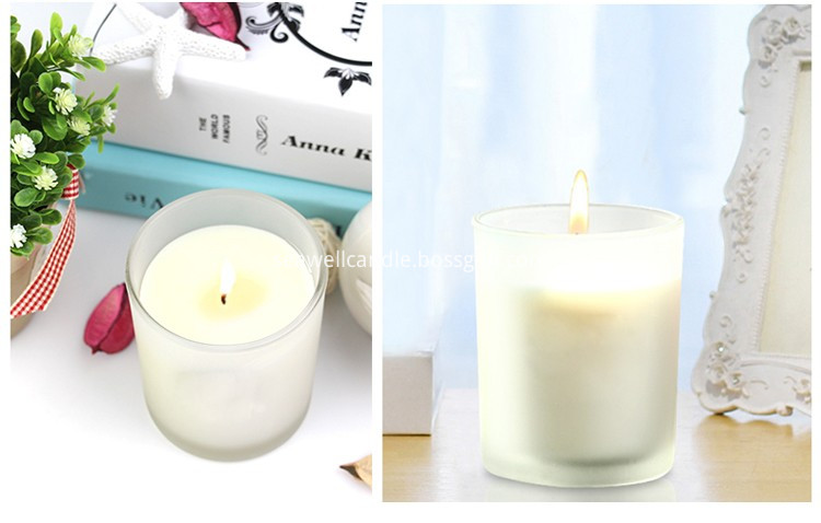 White Color Jar Candle