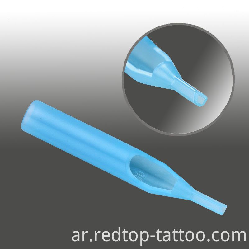 Blue tattoo neede tip