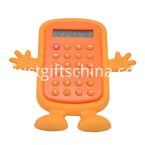 Promotional Colorful Cartoon Shaped Calculator_4