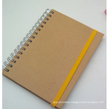 2015 New Style Kraft Spiral Notebook/ Diary