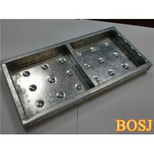 Tablón de andamio metálico para el sistema de andamios en la construcción