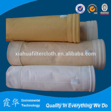 Aramid fiber needle air bags filter for cement plant