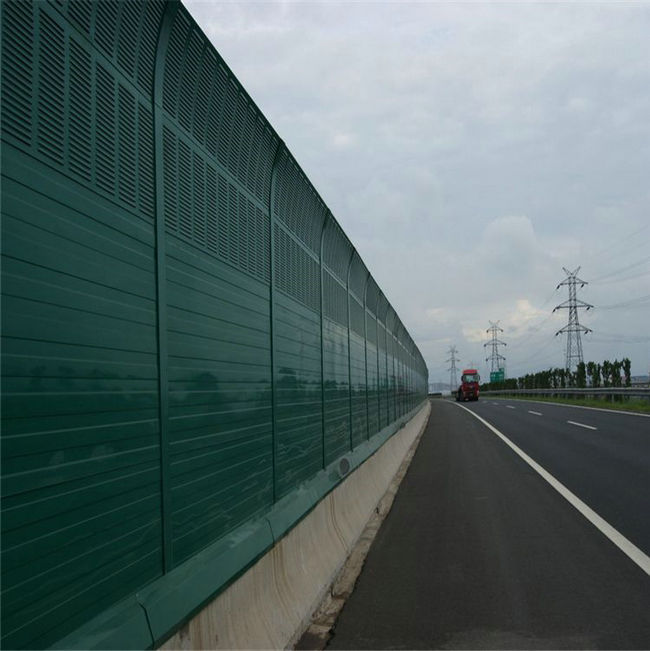 Highway Noise Barrier System