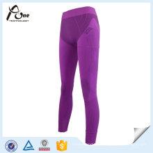 Pantalon de couleur pourpre Lady Sexy Sport Underwear Hot Tight