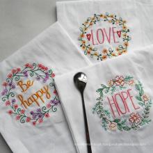 (BC-KT1016) Presente de promoção, elegante e elegante, toalha de cozinha 100% algodão