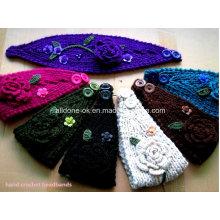 Пользовательские моды новый дизайн руки трикотажные повязки на шею Neckwarmer Turban
