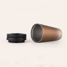 24oz Double Wall White Sublimation Screw Lid Cup Stainless Steel Insulated Tumbler