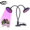 Abrazadera de escritorio LED Grow Light para plantas de interior