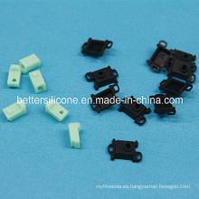 Piezas electrónicas de caucho de silicona de precisión