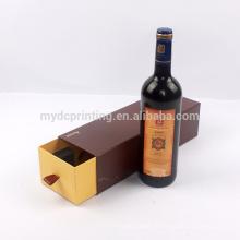 Nach Maß Weinglasgeschenkpapierkastenspeicher