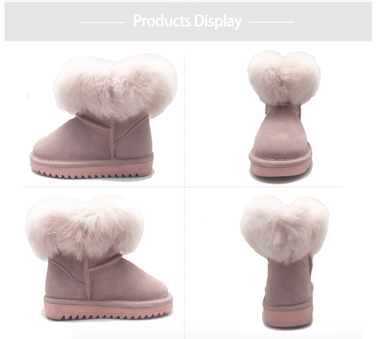 girls winter warm boots