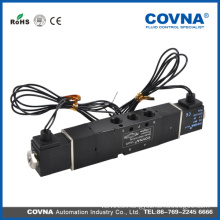 4V Series valve body 1/8' new type air solenoid valve China place of origin