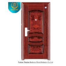 Puerta de seguridad, puerta de acero, puerta exterior