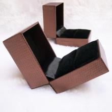 Caixa de embalagem de presente de jóias de papel promocional