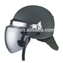 Estilo europeu padrão do capacete anti-motim da cara completa