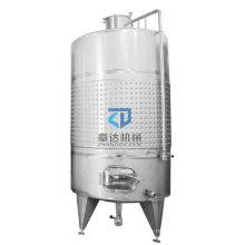 304/316L Stainless steel fermenting bucket beverage/wine fermentation vessel Insulationlayer jacketed fermenter