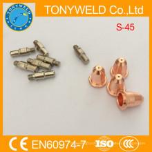 Trafimet peças de corte de plasma S45