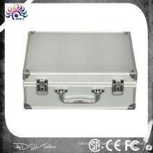 Kit de kit de tatouage Serrure de rangement portable Travelling Convention Carry Bag Aluminium, porte-tatouage en aluminium - boîte de voyage