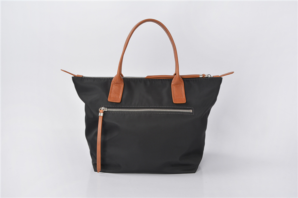 Black Nylon Women Handbags Casual Black Tote Bag