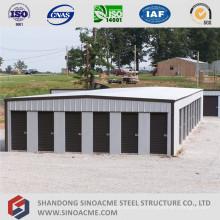 Edificio de almacenamiento de estructura de acero de bajo costo