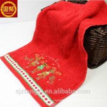 Melhor venda de toalha de mão 30x30, toalhas de mão baratas, toalhas de mão de natal