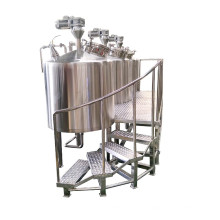 200L Stainless steel mash tun & lauter tun for beer brewing