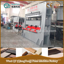 MDF mouldings and door frame pressing machine/ melamine moulds making machine