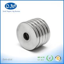 Kleiner Starker Monopol NdFeB Ring Magnet für Kopfhörer