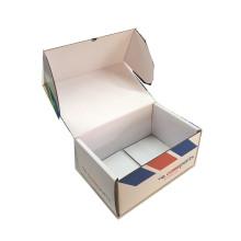 Custom White Printing Folded Packing Paper Box