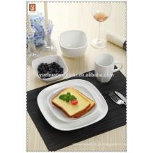 2015 Novos produtos louça de porcelana louça com prato e copo de bebida
