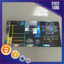 Hologram Laser Custom 3d Stickers